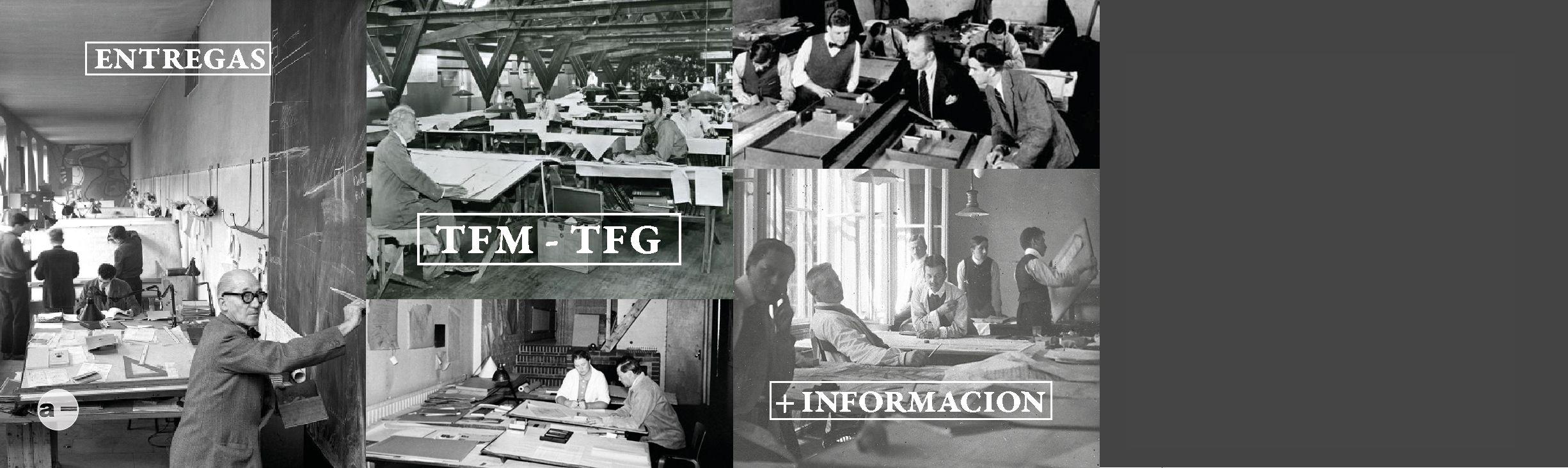 Periodo y condiciones de entrega en la ETSAG en el Máster y en el Grado