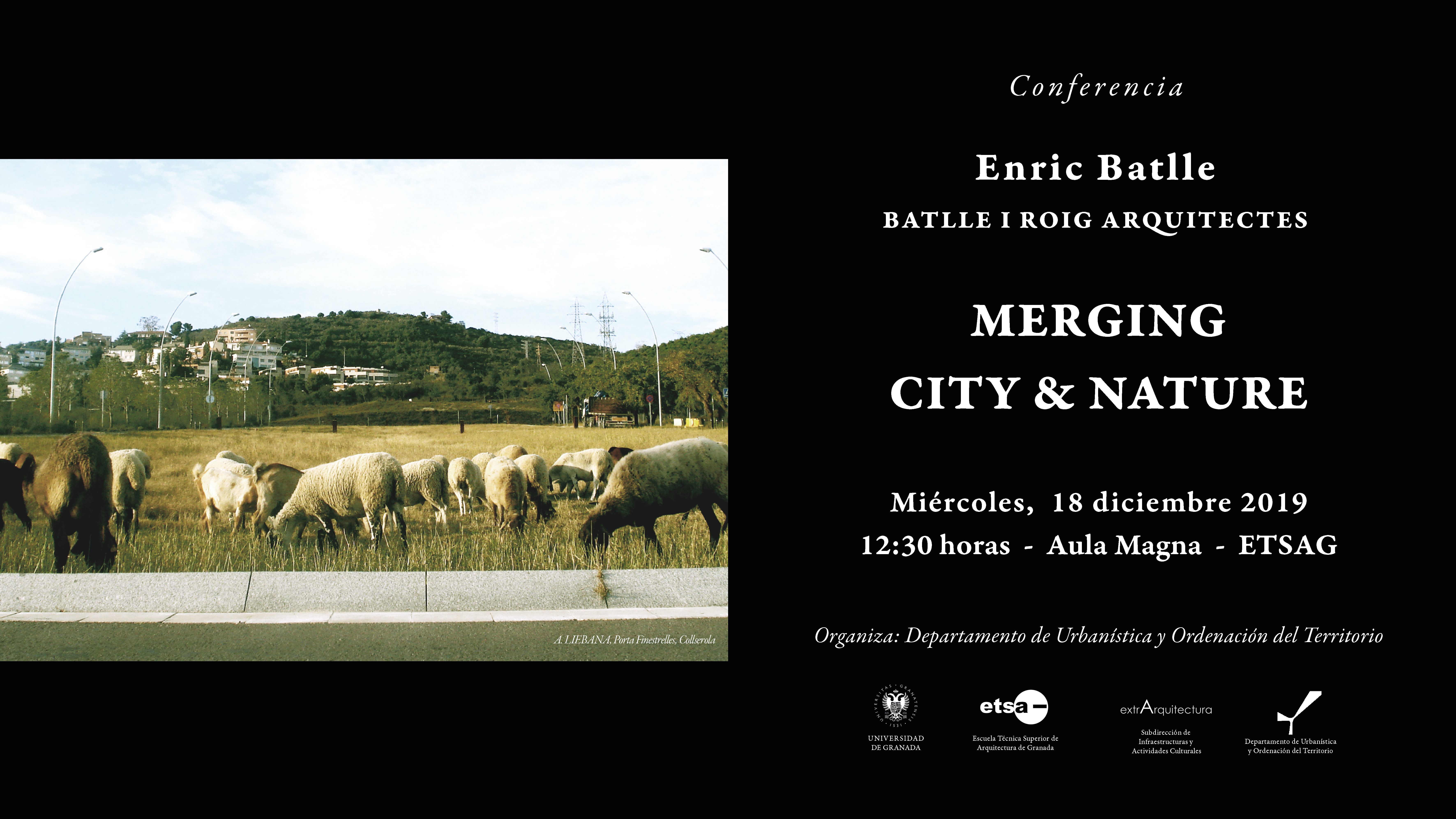 "Conferencia ""Merging City & Nature"""