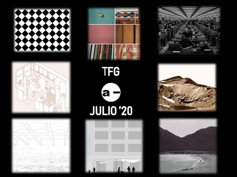 convocatoria extraordinaria de julio de entrega de TFG en ETSAG