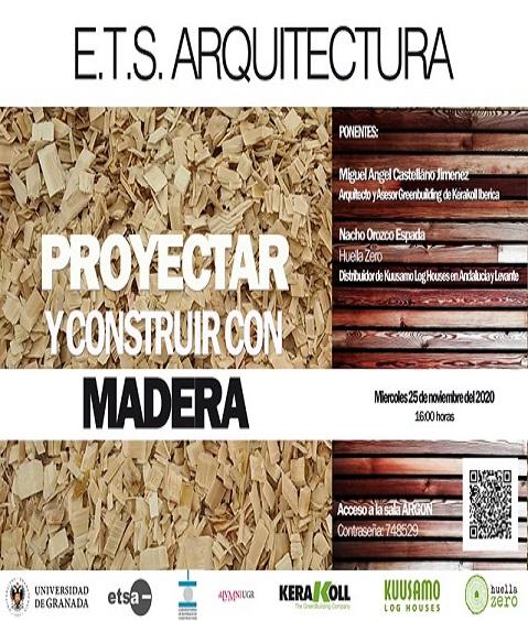 """Conferencia """"Proyectar y construir en madera"""""""
