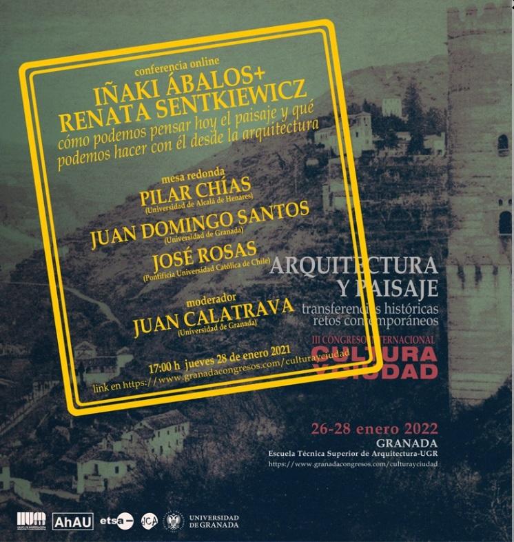 Conferencia y mesa redonda Congreso Arquitectura y Paisaje
