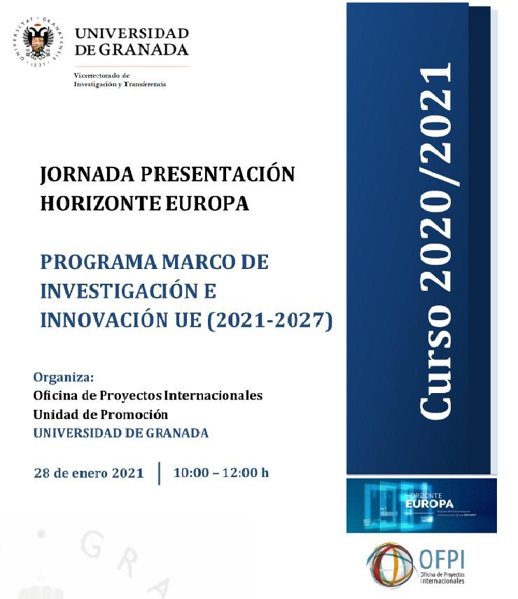 """Jornada presentación de """"Horizonte Europa"""""""