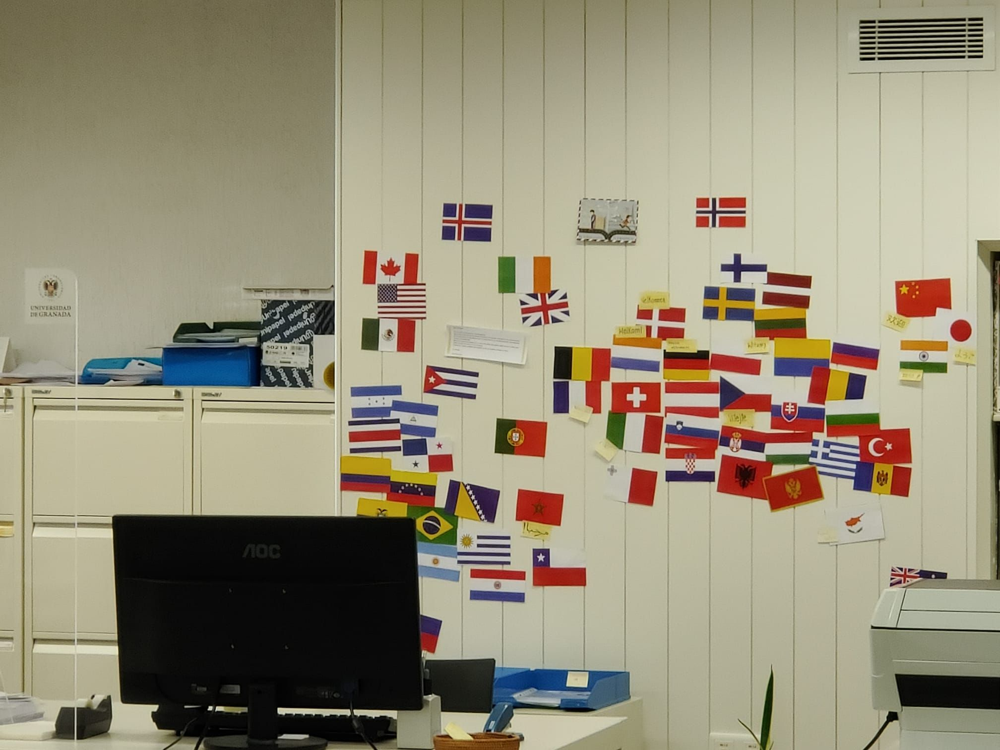 oficina de relaciones internacionales ETSAG